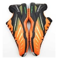 Kawasaki Badminton Shoes for Men Professional Indoor Court Sports Orange Sneakers Men Anti Slippery Hard Wearing K 520