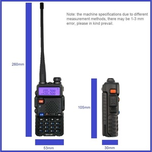 Image 3 - Powerful Walkie Talkie Baofeng UV 5R 8W Portable Amateur Radio Station Dual Band UV 5R Ham CB Radio Transceiver for Hunting 10km