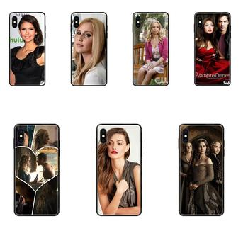 For Samsung Galaxy S5 S6 S7 S8 S9 S10 S10e S20 edge Lite Plus Ultra Style Design The Vampire Diaries 03 image