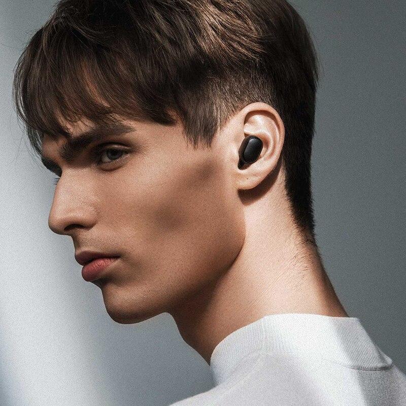 Xiaomi Redmi Airdots Black Bluetooth Earphones Youth Mi True Wireless Headphones Bluetooth 5.0 TWS Air Dots Headset