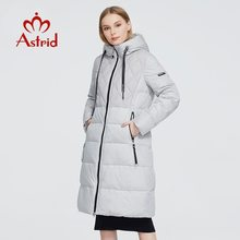 Astrid 2021 Neue Winter Frauen mantel der frauen warme lange parka mode weiß dicke Jacke mit kapuze große größen weibliche kleidung ZR-3599