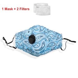Image 3 - Pm2.5 النساء القطن قناع مكافحة الغبار تلوث الهواء التنفس صمام الكربون المنشط تصفية الأسود الفم قناع الرجال قابلة لإعادة الاستخدام أقنعة الوجه