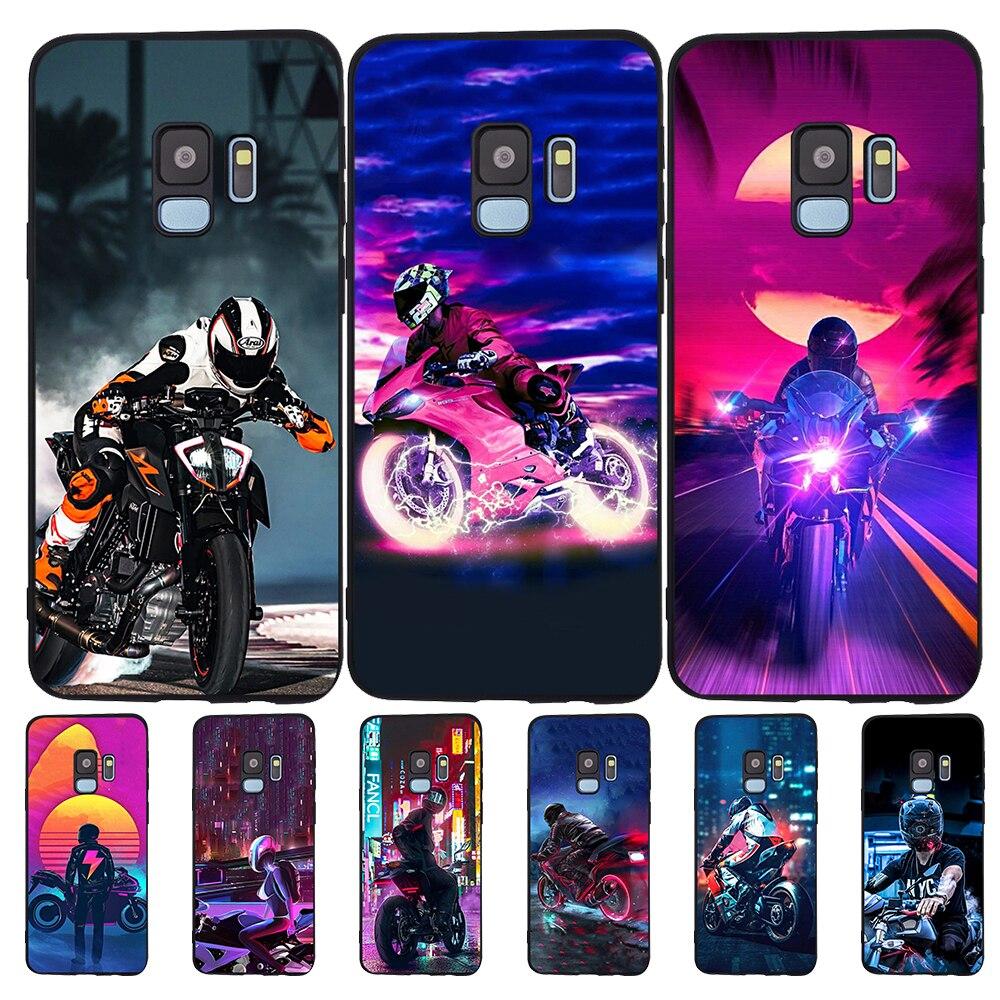 Para Samsung Galaxy S11 más S11e Xiaomi mi 9T Redmi Note 5 5 5 6 6 7 8 K20 Pro teléfono caso coque funda de silicona de chico de la moto genial
