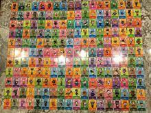 بطاقة عبور الحيوان مجموعة كاملة 400 قطعة (سلسلة 1 إلى سلسلة 4)