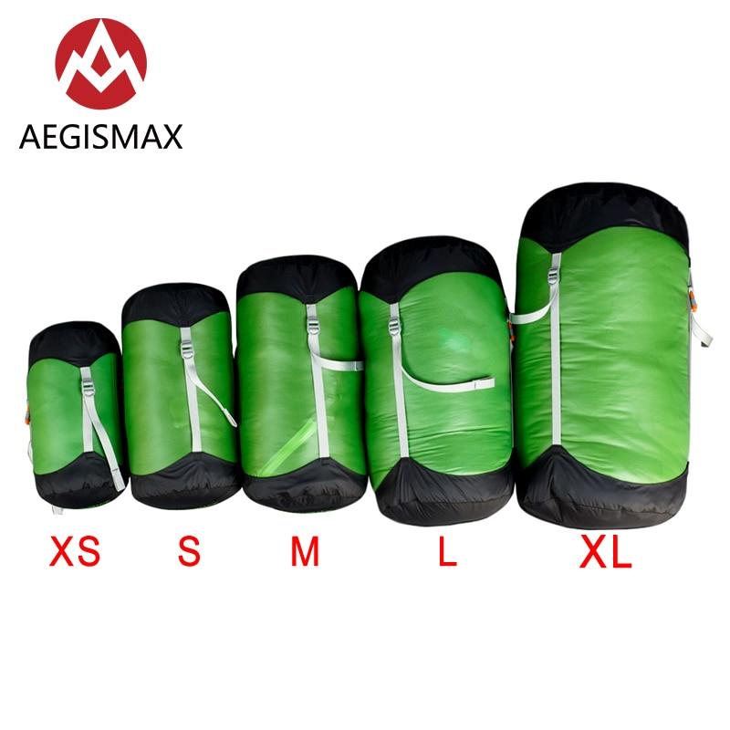 AEGISMAX Outdoor Sleeping Bag Compression Bag Quality Storage Bag Sleeping Bag Accessories Travel Portable