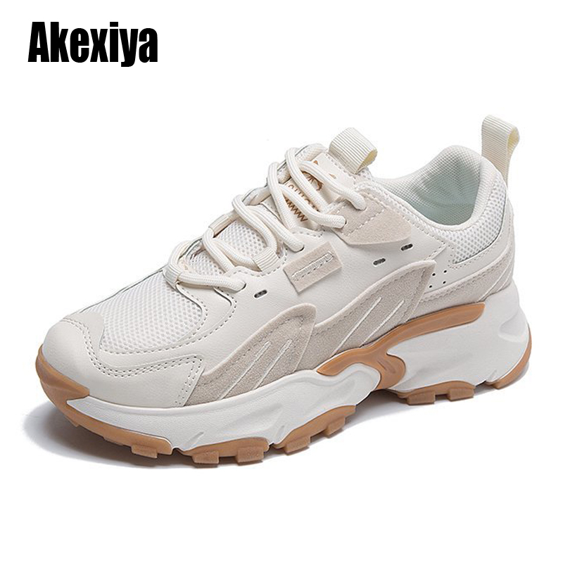 Women Fashion Sneakers Brand Designer Shoes Girls Students Trainers Tenis Shoes Increased High Platform Ladies Vulcanized Shoes