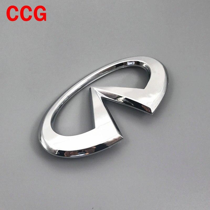 1 шт. высокое качество, эмблема заднего багажника Infiniti с логотипом автомобиля, креативный 3D значок, наклейка, наклейки, Стайлинг автомобиля, автомобильные аксессуары