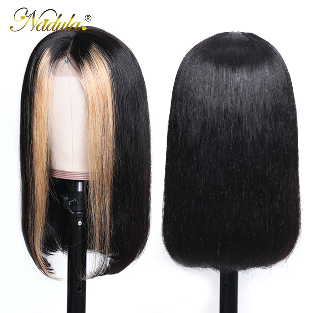 Nadula Wig 13 4 Lace Front Wigs For Women Ombre Color With Highlight Human Hair Wig Nadula Wig 13*4 Lace Front Wigs For Women Ombre Color With Highlight Human Hair Wig Brazilian Straight Lace Frontal Wigs