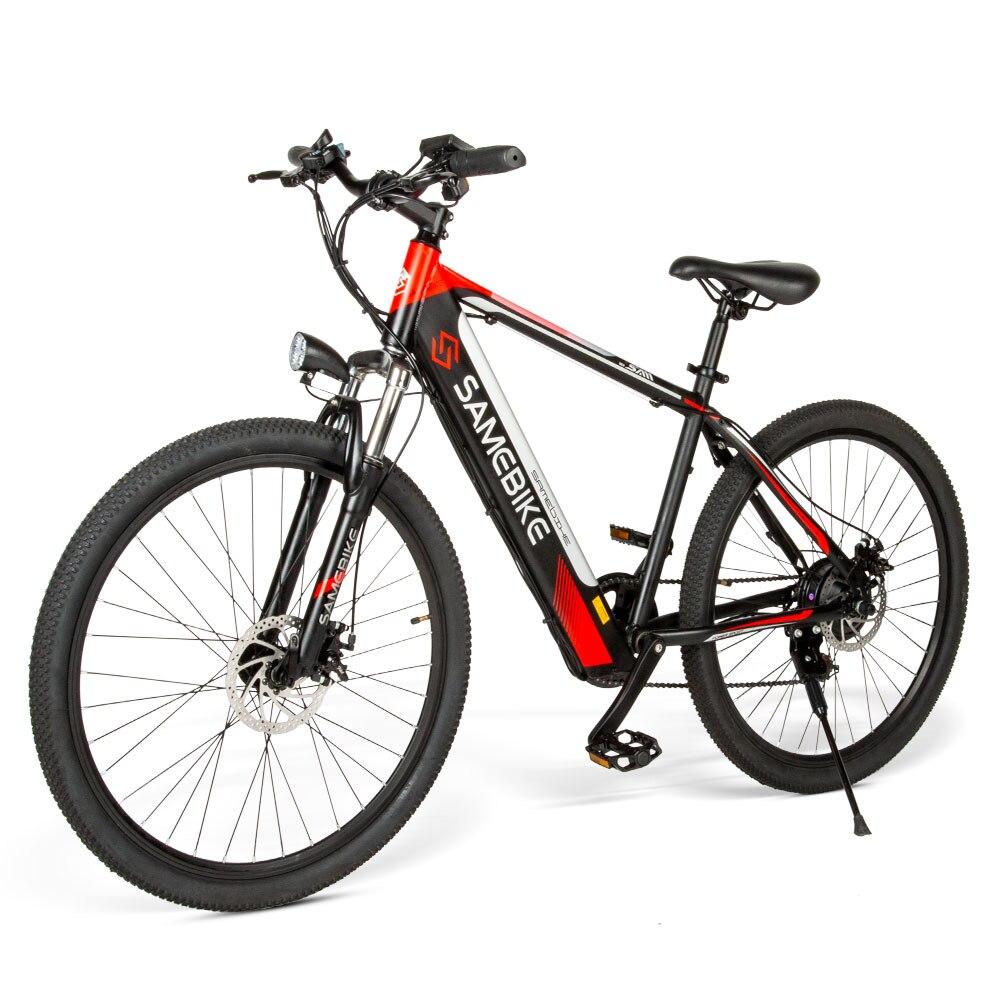 Electric Bike 26 Inch Power Assist Electric Bicycle Moped E-Bike 8AH 60 - 70km Range 180kg Max. Load E Bike