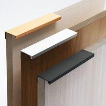 Furniture Hardware Drawer-Knobs Cabinet Pulls Kitchen Cupboard Hidden-Handles Orange