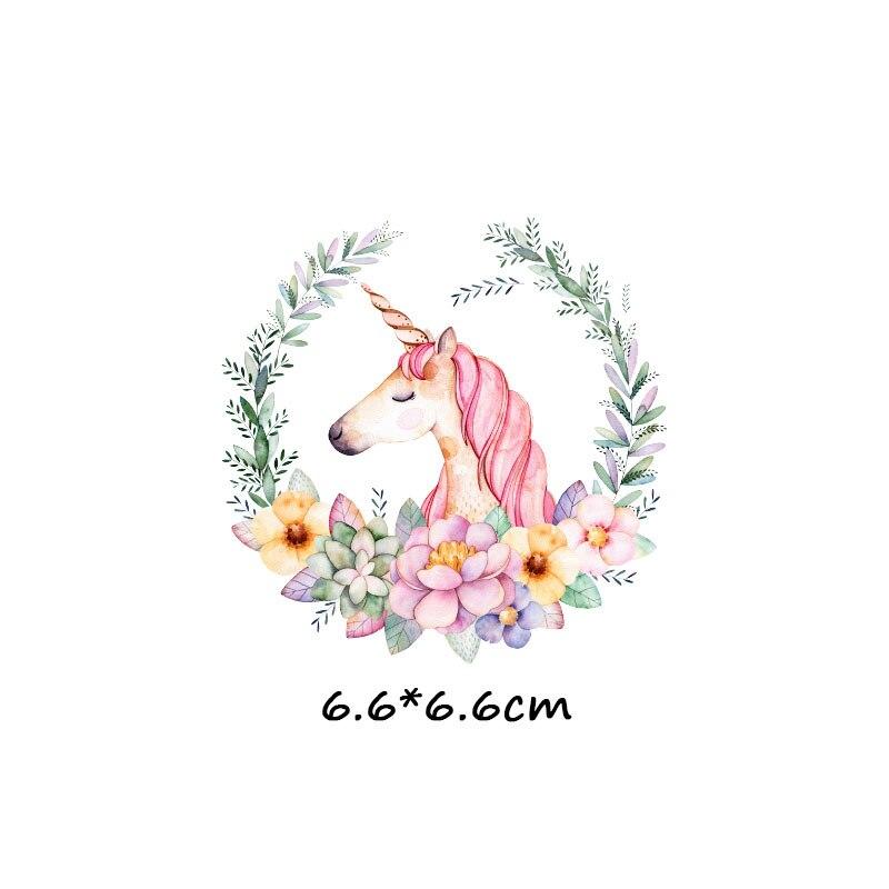 Мультяшный пони, единорог, динозавр, железная нашивка, теплопередача, одежда в полоску, футболка для мальчиков и девочек, сделай сам, волшебная наклейка на заказ - Цвет: ZT1127