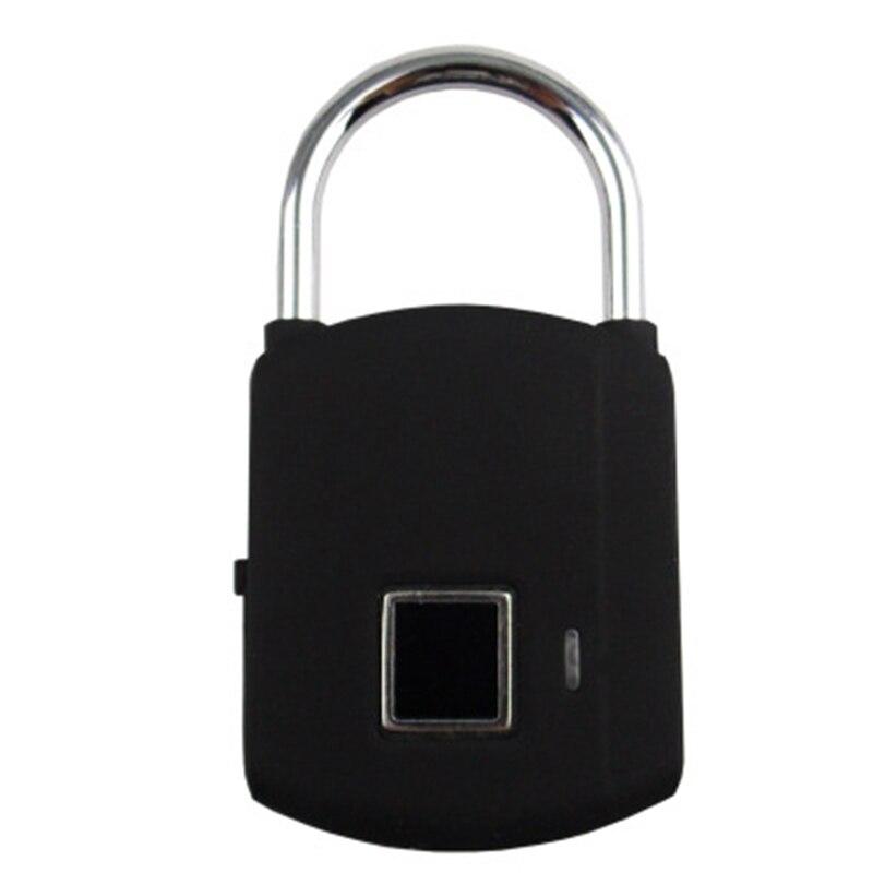 mochila equipaje maleta Candado de huellas dactilares inteligente con cerradura de huellas dactilares candado de seguridad port/átil recargable USB para casillero