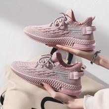 Damyuan Flats Women's Shoes Breathable Comfortable Casual Women's Sneakers Fashion Non-slip Outdoor Walking  Flat Shoes Women