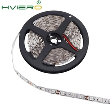 цена на 5m 300 LEDs 5050 SMD DC 12V IP20 Non Waterproof Flexible LED Light 60leds/m White RGB Party Light flexible light 5050 Led Strip