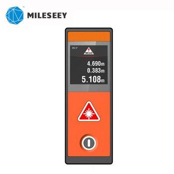 Mileseey D520 20M laser Rangefinder Laser Distance Meter mini Orange Color Laser Range Finder Measuring Tape