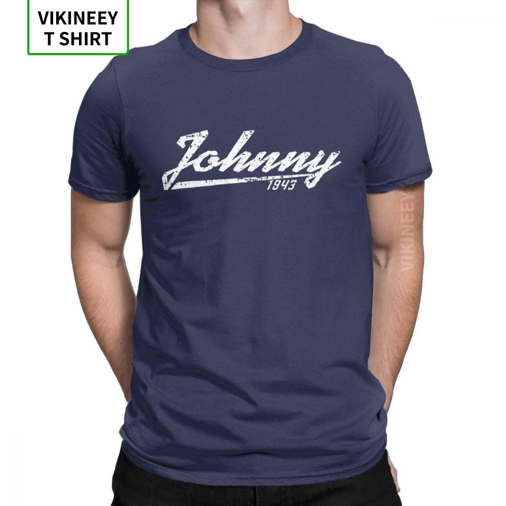 Johnny Hallyday Rocker Tribute Men T Shirt Music Novelty Cotton Short Sleeve Tees O-Neck T-Shirts Letter Clothes For Fans