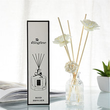 Reed Oil Diffusers With Natural Sticks, Glass Bottle And Scented Oil 50ml Aromatizador De Ambiente Ароматизатор Для Дома