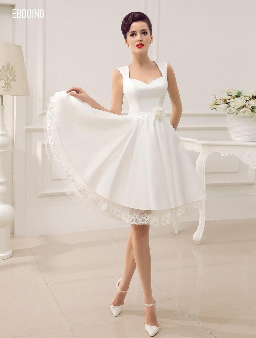 Newest Formal Dress A-line Sweetheart Neckline Knee-Length Vestidos De Festa Plus Sizes Open-Back Evening Prom Party Gown