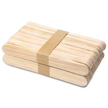50/ 100PCS Disposable Wooden…