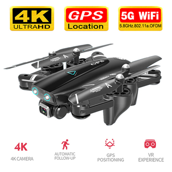 цена на S167 GPS Drone With Camera 5G RC Quadcopter Drones HD 4K WIFI FPV Foldable Off-Point Flying Photos Video Drone Helicopter Toy