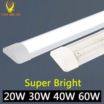 120cm Led Tube Light Lamp T5 Tube 220V 60cm 2ft 4ft 1200mm T8 Wall Lamp 20W 40W 60W Warm White Cold White Tri-proof Light
