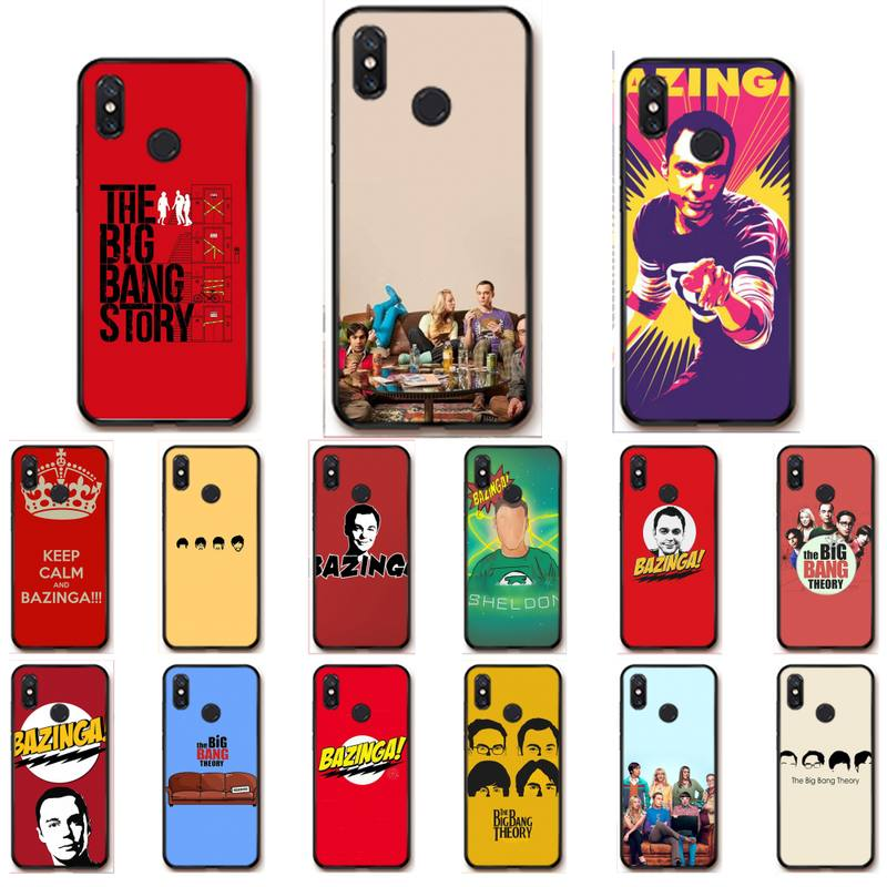 RuiCaiCa The <font><b>Big</b></font> <font><b>bang</b></font> Theory mobile <font><b>phone</b></font> <font><b>case</b></font> for xiaomi redmi note 4x 4a 5 5a plus 6 6a pro s2 telephone accessories image