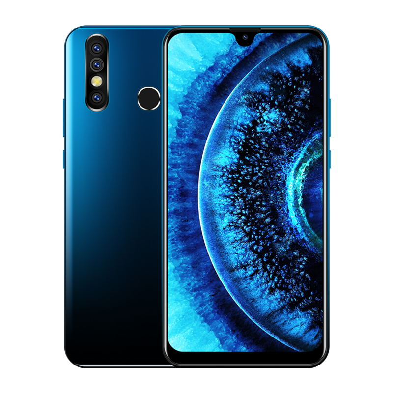 XGODY A70S Dual SIM 7.2 Inch Waterdrop Screen Smartphone MTK6580 Quad Core 3000mA Android 9.0 1GB 4GB Mobile Phone New Phones