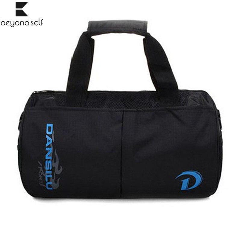 Gym Bags Outdoor Handbag Sportbag For Men Women Waterproof Wear-resistance Handheld Fitness Sports Bag Travel Package Bag 090