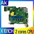 Akemy pour For Asus X101C X101CH X101CH carte mère d'ordinateur portable 2 cœurs CPU REV2.3/2.0 100% testé Mianboard