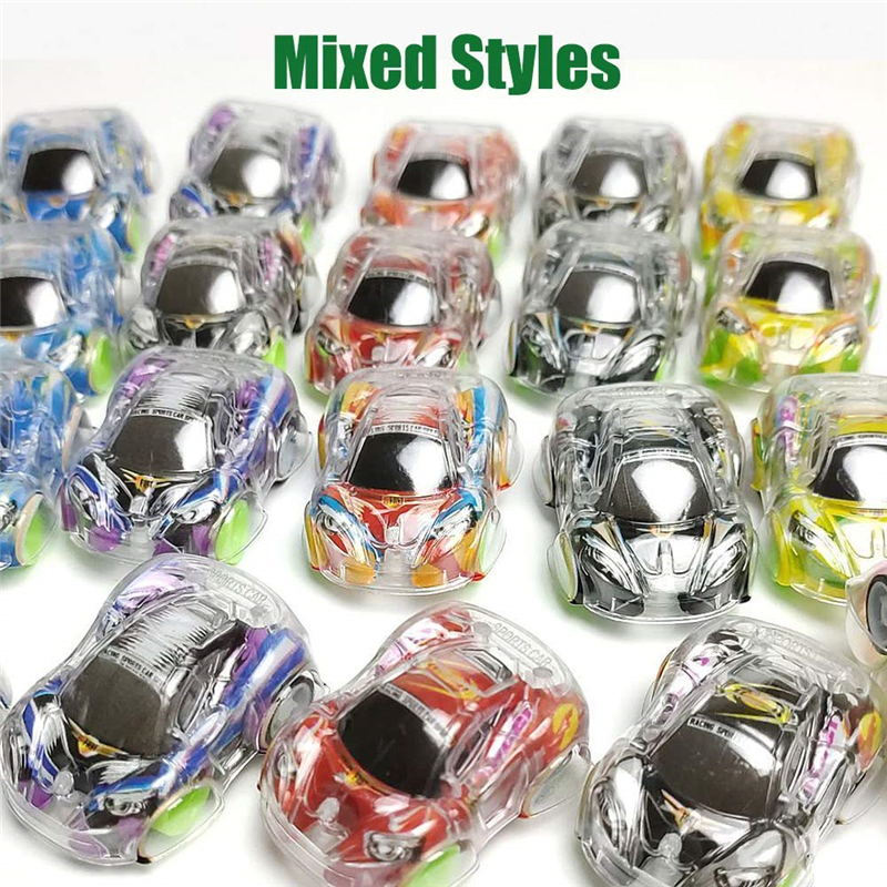 36PCS Pull Back Car Toy Cars Party Favor Mini  Set For Boys Kids Child Birthday Play Plastic Colorful Vehicle Christmas Gift