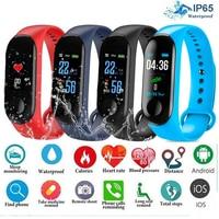 Reloj deportivo inteligente para hombre y mujer, pulsera resistente al agua con control del ritmo cardíaco y de la presión sanguínea, recordatorio de mensajes y Bluetooth