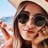 Retro Sunglasses Women 2020 High Quality Black Oval Sunglasses Ladies Fashion Sun Glasses For Men Sunglass Oculos De Sol