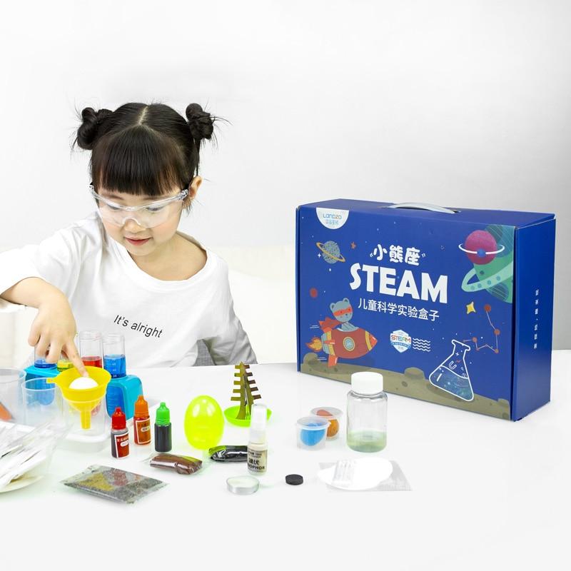 Детский набор для научных экспериментов LANDZO, обучающая Паровая игрушка для учеников, детский сад, технология, физические ручные игрушки, по...