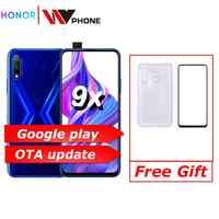 Honor 9x 9x pro téléphone intelligent Kirin 810 Octa Core 6.59 pouces levage plein écran 48MP double caméras 4000mAh GPU Turbo téléphone portable