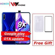 Honor 9x 9x pro Smart Phone Kirin 810 Octa Core 6.59 inch Lifting Full Screen 48