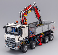 New Arocs Series Truck City Motor Power Function Model Fit Technic Building Blocks Bricks Kid Toys Diy Gift 42043 20005 Birthday