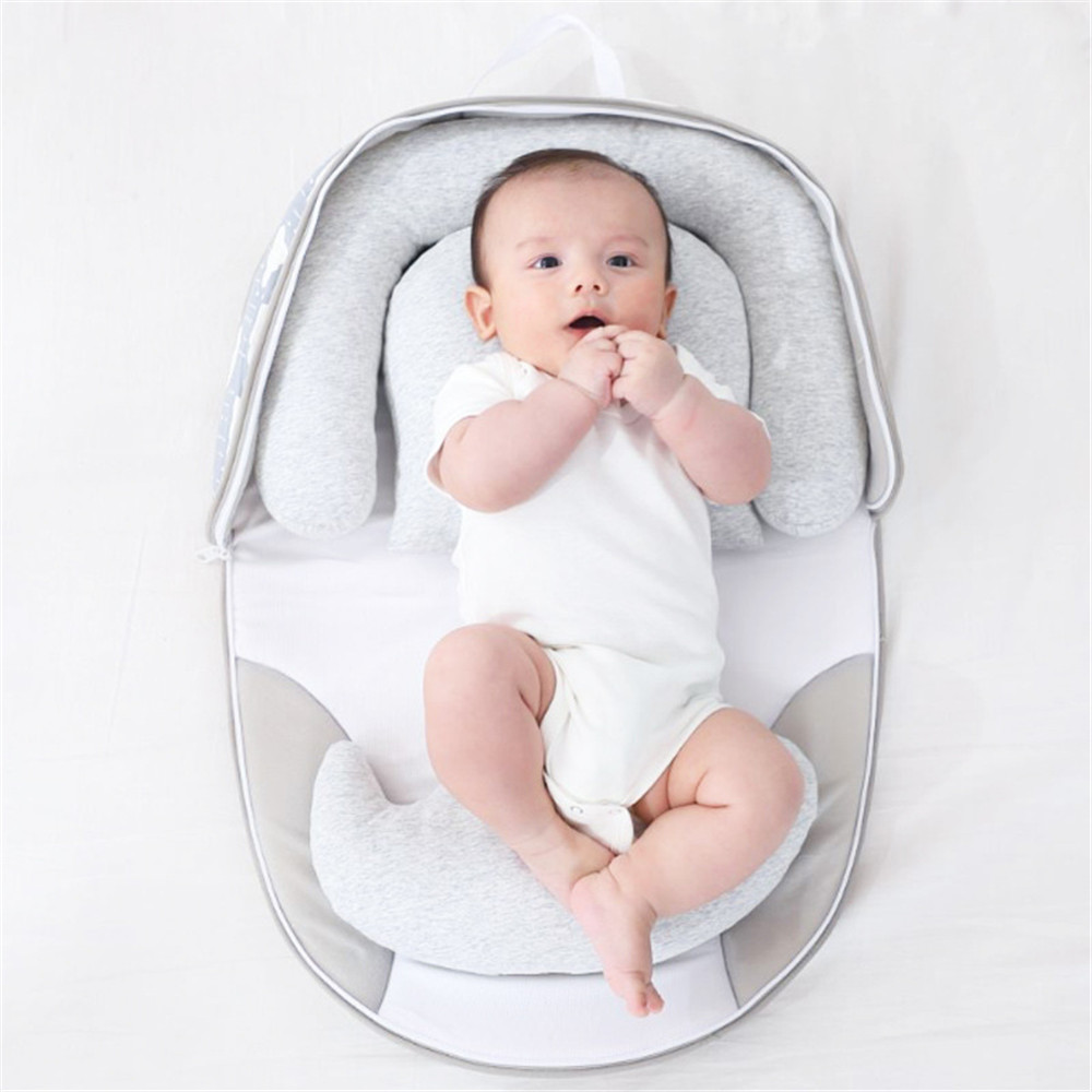 Baby Bed Newborn Baby Nest Bed Foldable Bed Portable Outdoor Travel Crib Co-Sleeping Nest Cradle Baby Crib Cot Bumpers Cribs