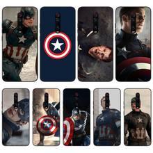 Mantin Captain America Soft Silicone TPU Phone Cover For Redmi 6 4X 7 7A 8 GO K20 Note 4 4X 5 5A 6 6 Pro 7 8 8pro original liquid silicone phone case for xiaomi redmi k20 8a 7a 5a 4x s2 5 plus soft back cover for redmi note 4x 8 7 6 5 pro