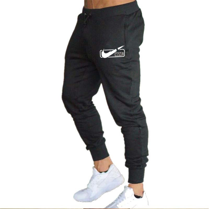 Hot Selling Europe And America Knitted Casual Men's Trousers Athletic Pants Men Fitness Pants Running Training Long Pants