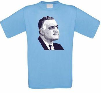 Gamal Abdel Nasser Agypten Egipto árabe revolución camiseta alle Grosen NEU