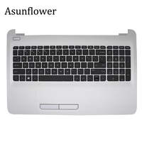 Asunflower NEW For HP 15 AY039WM 15 AY 15 BA Series 250 G5 Laptop PALMREST W/ KEYBOARD TOUCHPAD 855022 001 Palmrest Cover Case