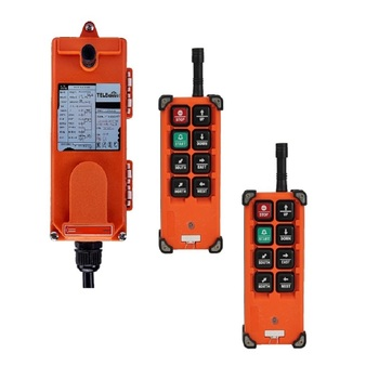цена на 2 transmitter 1 Receiver FF21-E1B 6 channels 1 speed hoist crane wireless industrial remote controller
