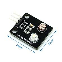 Фоточувствительный резистор, светильник, аналоговый датчик градаций серого, электронная плата, линейный поисковик, модуль отслеживания дл...