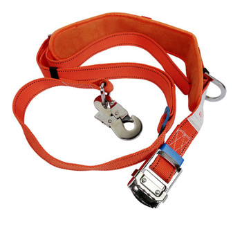 Anti-falling Electrical Safety Belt Belt Waist Guard Thickening Wear-resistant Bar Belt Climbing Bar With Red National Standard