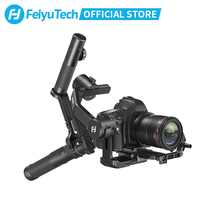 FeiyuTech 3-Axis AK4500 Handheld Gimbal Stabilizer Kit for DSLR Camera Sony/Panasonic/Canon with Remote Pole Tripod Follow Fcous fy feiyutech a2000 3 axis handheld gimbal