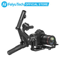 FeiyuTech AK4500 3-Axis Gimbal Stabilizer for Mirrorless DSLR Camera Sony A7M3 Canon 1DX 6D 5D Panasonic GH5 GH5S 4.6kg Payload
