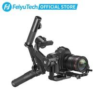 Feiyutech 3 軸AK4500 ハンドヘルドジン一眼レフカメラ用ソニー/パナソニック/キヤノンとリモートポール三脚フォローfcous 3