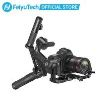 Feiyutech 3 As AK4500 Handheld Gimbal Stabilizer Kit Voor Dslr Camera Sony/Panasonic/Canon Met Afstandsbediening Pole statief Volgen Fcous