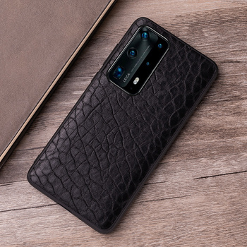Genuine Leather Phone Case For Huawei P20 P30 P40 Honor 9X Mate 10 20 30 Lite 40 Pro Plus Nova 5T Natural Sheep Skin Back Cover