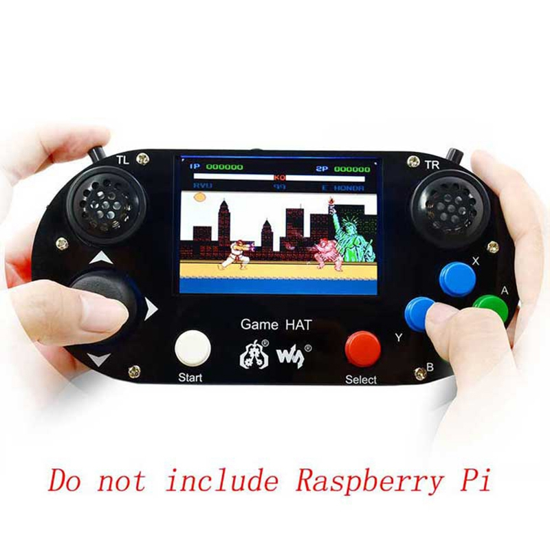 Portable Video Game Console for Raspberry Pi 3.5 Inch IPS Screen Retropie/Recalbox
